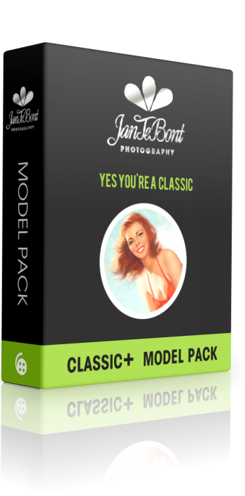 CLASSIC+ MODELPACK become a model