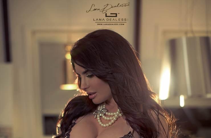 Lana Dealessi Busty Italian Goddess